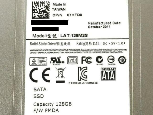 ★SSD LITE-ON LAT-128M2S 128GB SATA MLC < PC本体/周辺機器の