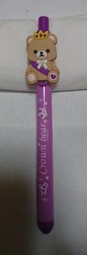 ナムコ×King&Prince クラウンベアボールペン 紫…岸君カラー