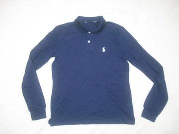 wr527 女 Ralph Lauren ラルフローレン 長袖ポロシャツ Sサイズ