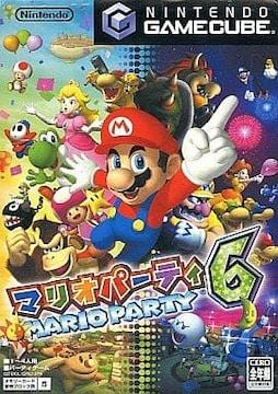 ゲームキューブソフト/マリオパーティ6 外箱・マイク付き