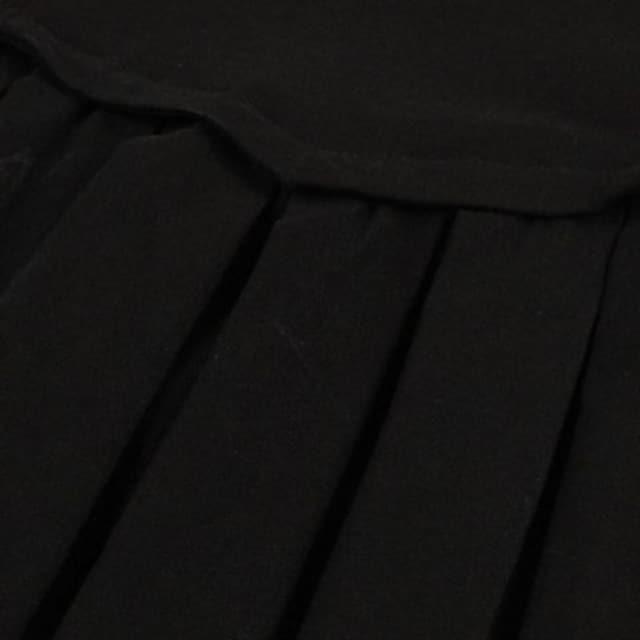 新品大きいサイズ4Lゴシック袖ファー付パーティドレスワンピース < 女性ファッションの