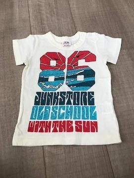美品ジャンクストアー80半袖Tシャツ バックスタイル有サーフ