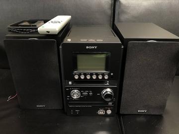 SONY:ソニー オールインワンコンポ CMT-M35WM ブラック 動作品