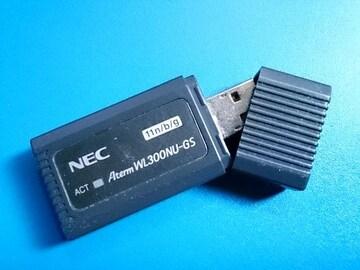 NEC 無線子機 Atem  WL300NU-GS