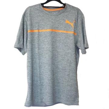 新品◆送料無料◆pumaグレーボンデッドテックTシャツ(XL)
