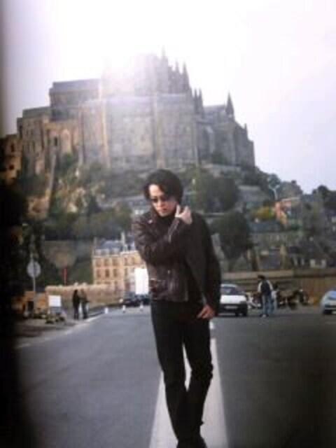 RK in Mont Saint-Michel < タレントグッズの