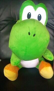 スーパーマリオ 特大サイズぬいぐるみ おすわりヨッシー 緑