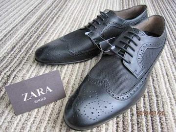 □ZARA/ザラ ドレスシューズ ビジネス/メンズ27.0cm☆新品
