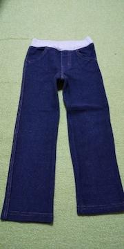 ミキハウス ストレッチデニム風パンツ 110センチ