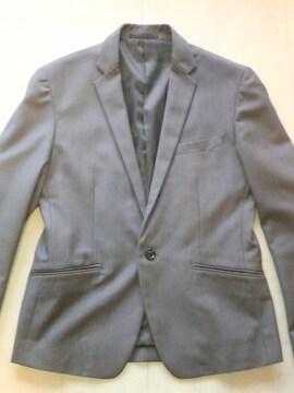 □COMME CA ISM/コムサイズム 1B テーラードジャケット細身/メンズ☆新品