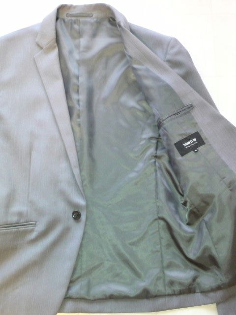 □COMME CA ISM/コムサイズム 1B テーラードジャケット細身/メンズ☆新品 < ブランドの