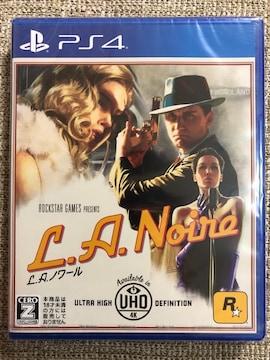 L.A.ノワール 新品未開封 PS4 LAノワール