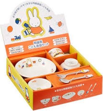 新品 ミッフィー こども食器セット グッズ 全6点入り 日本製