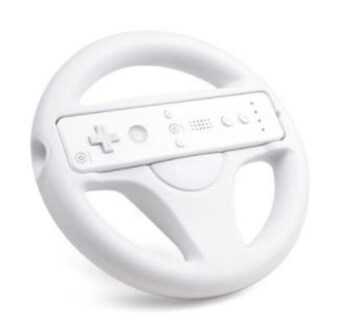 Wii用 ハンドル レーシングステアリングホイール1242