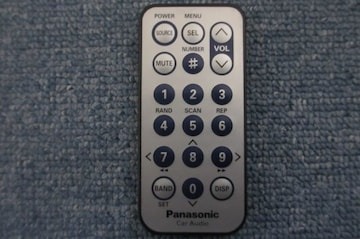 パナソニック リモコン YEFX9992663 動作確認済 カー オーディオ