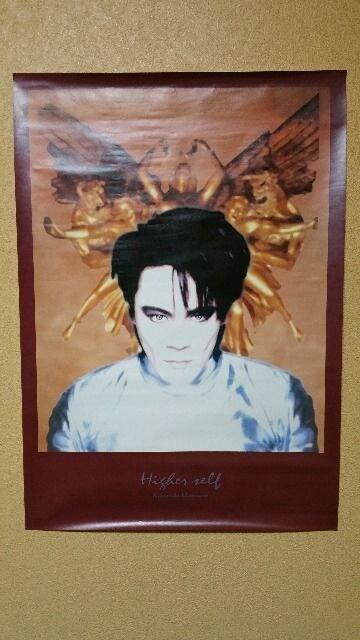 送料無料/氷室京介ハイヤーセルフ特典ポスターART WORK#6  < タレントグッズの