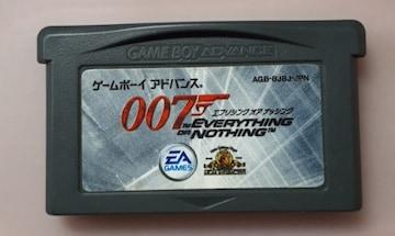 GBA 007 エブリシング オア ナッシング