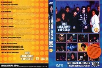 ≪送料無料≫THE JACKSONS マイケルジャクソン EXPOSED 2004