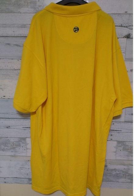 セールPepeJeansペペジーンズビッグポロシャツイエロー2XL < 男性ファッションの