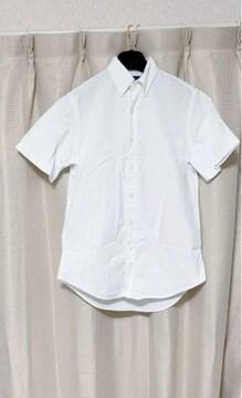 ラルフローレン カスタムフィット 白 半袖シャツ ブラウス