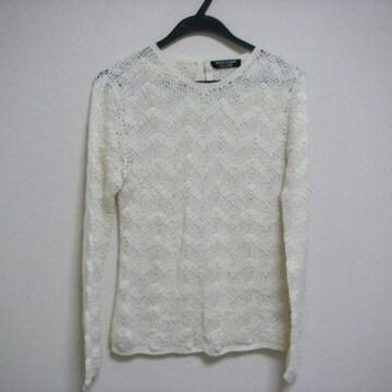 ナイスクラップ SよりのMくらい 編み ニット 長袖
