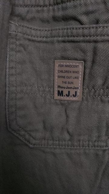 mou jon jon◇長ズボン カーキ 110cm タグ切り取り < ブランドの