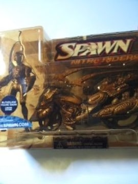 SPAWN NITRO RIDERS LIMITED EDITION
