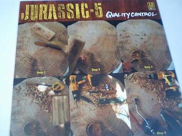 名盤!JURASSIC5ジュラシック5 「クォリテイ・コントロール」12インチ アナログ盤