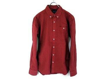 ブロードコットンボタンダウンシャツMピンクpink新品※2点送料無料