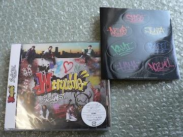 新品/ジャニーズWEST『W trouble』CD+DVD【初回盤B】特典付