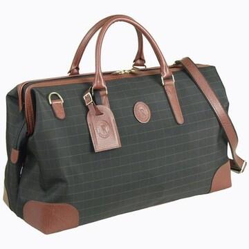豊岡製鞄☆ボストンバッグ 旅行 ダレス型 45cm 黒 送料無