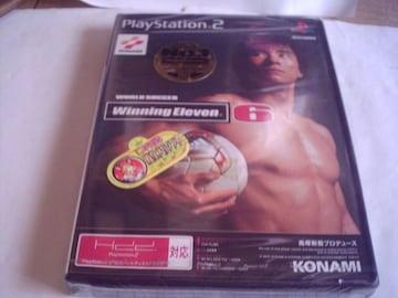 PS2 ウイニングイレブン6 未開封品