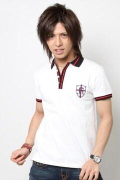 RECYCLAGEルシクラージュ佐藤歩着スポーツラインポロシャツS