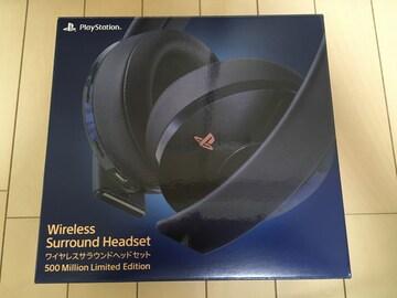 PS ワイヤレスサラウンドヘッドセット CUHJ-15007J1 美品