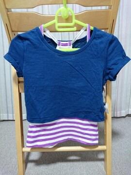 ◆半額即決★ラス1★新品★フォーエバー21★Tシャツ&キャミセット★M