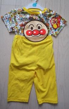 95★アンパンマン★お腹がでない半袖パジャマ★新品