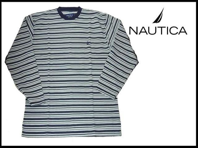 新品 NAUTICA ノーティカ  ロングT-シャツ  < ブランドの