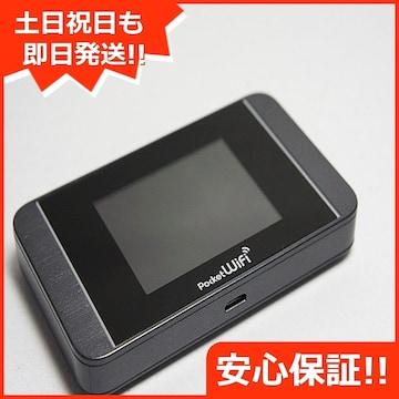 ●安心保証●新品同様●303HW Pocket WiFi ダークシルバー●