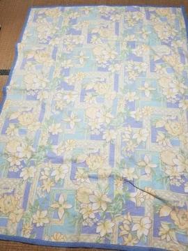 インテリア 花柄ラグマット&毛布