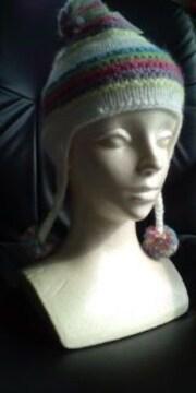 ベビー・子供用ニット帽☆風邪の防止、おしゃれに♪