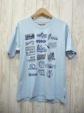 即決☆コロンビア 特価 プリントTシャツ BLU/L UVケア 新品