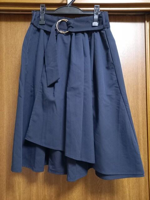 アースミュージック&エコロジー 巻きスカート風スカート  < ブランドの