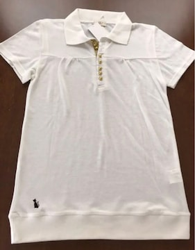 新品 ポロシャツ 猫刺繍