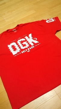 LA直輸入!DGK 赤 REDサイズ3XLXXXL skate border