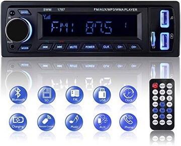 カーオーディ MEKUULA 車載 MP3 プレーヤー カーラジオプレーヤ