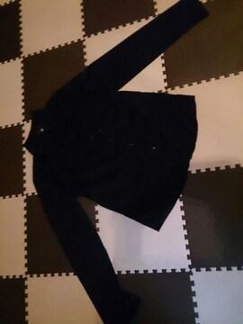 黒のシャツブラウス 美品 13R