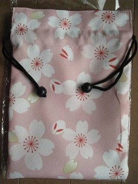 新品★リバーシブル 和柄 巾着袋