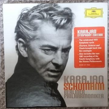 KF  シューマン 交響曲 全集  カラヤン  3CD
