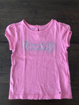 トミーヒルフィガー 女の子 Tシャツ サイズ2T 90-100 美品
