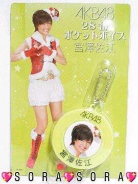 セブンイレブン一番くじAKB48<宮澤佐江>ポケットボイス